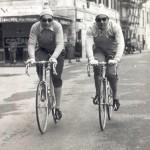 Stefano Gaggero con Coppi