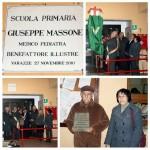 Varazze_27.11.2010_Intitolazione scuola primaria a Giuseppe Massone