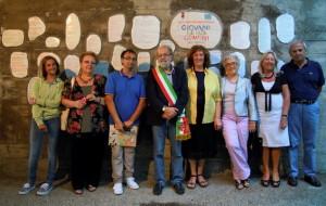 Celle-Ligure.6.09.2015.GSC-posa-piastrelle-poesie-vincitrici