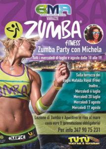 Varazze-estate.2016.Zumba-party-con-Michela-in-riva-al-mare