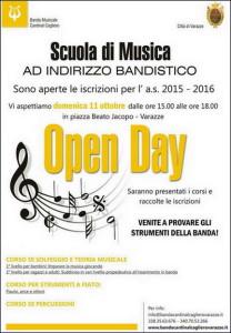 Varazze.11.10.2015.Open-day-banda-Cardinal-Cagliero