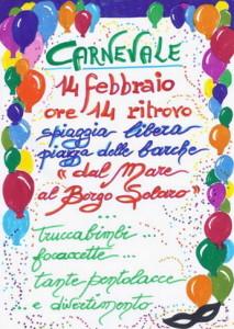Varazze-Solaro.14.02.2016.Carnevale-itinerante-al-Solaro-locandina