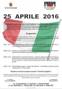 Varazze.25.aprile.2016.locandina-eventi-in-programma