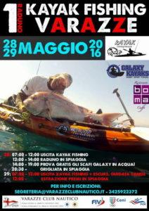 Varazze-VCN.28-29.05.2016.Raduno-Gruppo-Kayak-Fishing