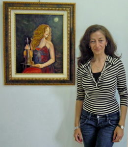 Caterina-Galleano-Chetj_Ragazza-che-suona