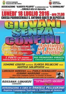 Varazze-Alpicella.18.07.2016.Giovani-Senza-Confini-spettacolo-e-premiazione