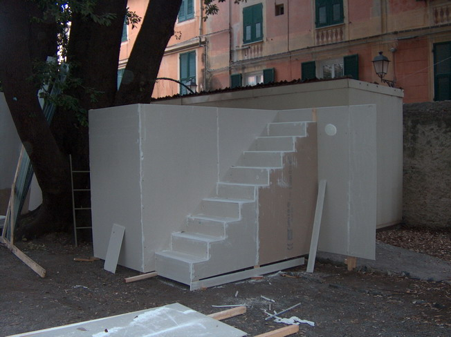 Scenografia Presepe Vivente di San Nazario 2007-2