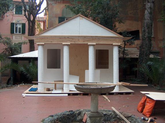 Scenografia Presepe Vivente di San Nazario 2007
