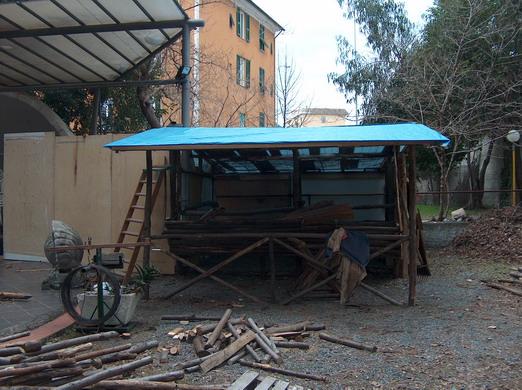 Scenografia Presepe Vivente di San Nazario 2007-6