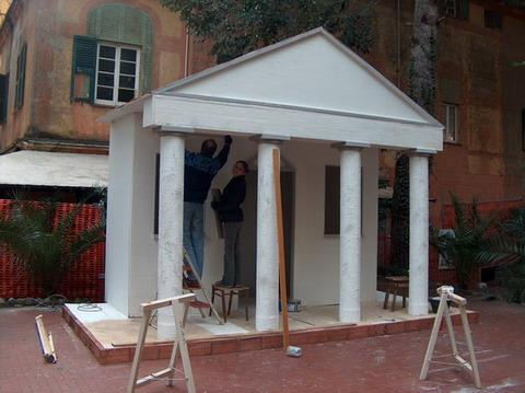 Scenografia Presepe Vivente 13° edizione 2007-2