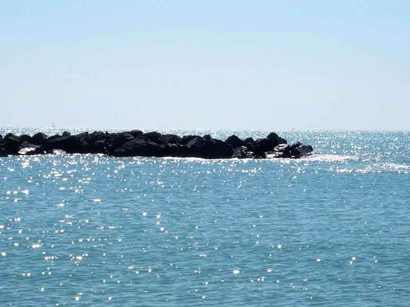 Il luccichio del mare