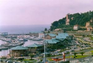 Veduta panoramica di Marina di varazze