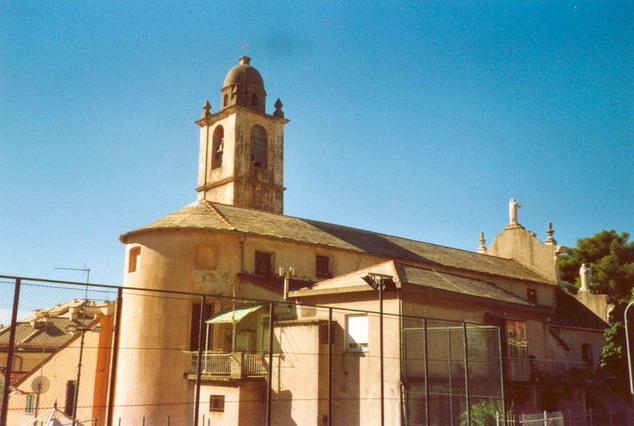 Posteriore della chiesa di San Nazario